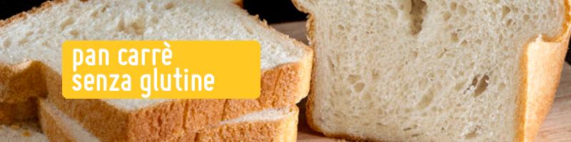 Pan Carrè Senza Glutine