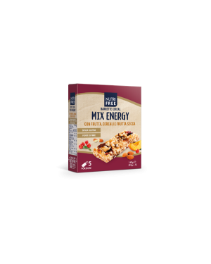 Nutrifree barrette cereal mix energy 140g