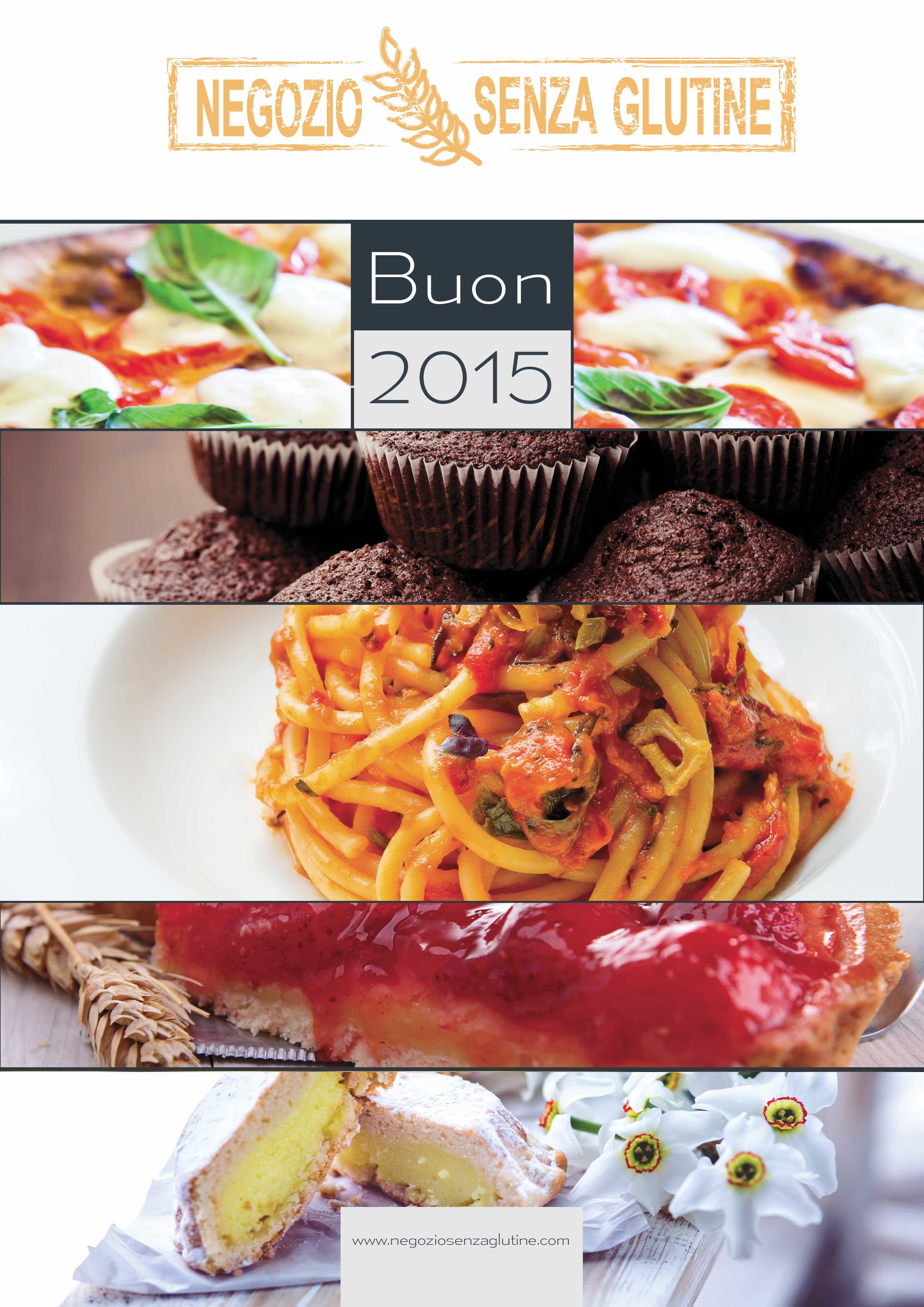 Calendario 2015 senza glutine